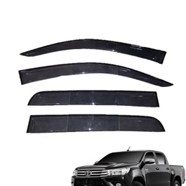 Toyota Hilux Revo Air press Sun Visors Black - Model 2016-2019-SehgalMotors.Pk