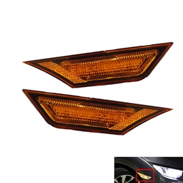 Honda Civic Side Fender Marker Lamp Type R Style Yellow - Model 2016-2019-SehgalMotors.Pk