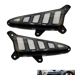 Toyota CHR Front LED DRL Tail Style - Model 2017-2018	-SehgalMotors.Pk