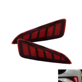 Toyota CHR Brake Bumper Tail Lights - Model 2017-2018	-SehgalMotors.Pk
