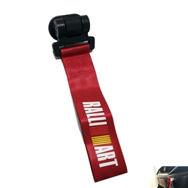Ralli Art Strap Tow Hook - Red-SehgalMotors.Pk