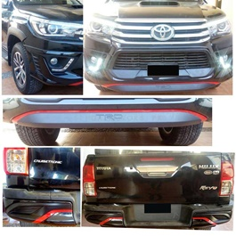 Toyota Hilux Revo TRD Style Body Kit / Bodykit 2 Pcs - Model 2016-2019-SehgalMotors.Pk