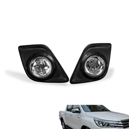 Toyota Hilux Revo Fog Lamps / Fog Lights  - Model 2016-2020	-SehgalMotors.Pk