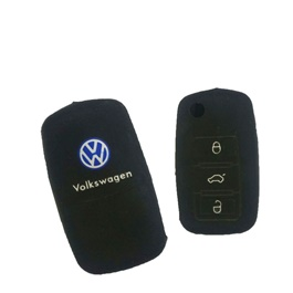 Volkswagen PVC / Silicone Protection Key Cover-SehgalMotors.Pk