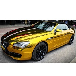 Glossy Golden Wrap Per Sq Ft-SehgalMotors.Pk