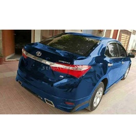 Glossy Electric Blue Wrap Per Sq Ft-SehgalMotors.Pk