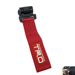 TRD Strap Tow Hook - Red	-SehgalMotors.Pk