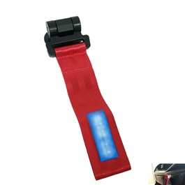 Strap Tow Hook Style B- Red	-SehgalMotors.Pk