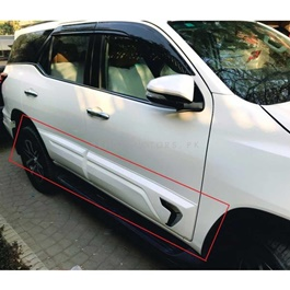 Toyota Fortuner Body Cladding Chrome Thailand 4 Pieces - Model 2016-2019-SehgalMotors.Pk