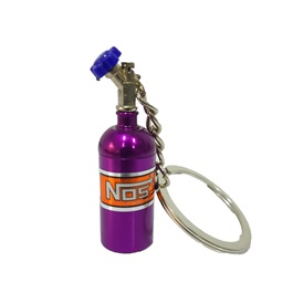Nos Can Key Chain / Key Ring - Purple-SehgalMotors.Pk