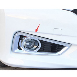 Honda City Brake Bumper Lamp Chrome Cover - Model 2014-2016-SehgalMotors.Pk