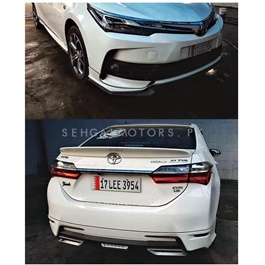 Toyota Corolla Face Lift Body Kit / Bodykit  2pcs - Model 2017-2021-SehgalMotors.Pk