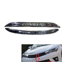 Toyota Corolla Grande  Front/rear Mouldings Model - 2014-2017-SehgalMotors.Pk