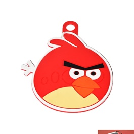 Angry Bird non slip Dashboard Mat  | Anti Skid Material | Silicon Type Dashboard Mat | Car Anti Slip Mat-SehgalMotors.Pk