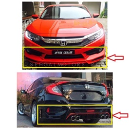 Honda Civic Kantara ABS Plastic Body Kit / Bodykits Thailand - Model 2016-2020-SehgalMotors.Pk