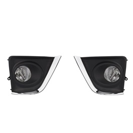 Toyota Corolla DLAA Fog Lamps / Fog Lights with Glass Lens - Model 2014-2017-TY642-SehgalMotors.Pk