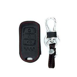Honda Civic 2015 key cover Leather-SehgalMotors.Pk