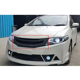 Honda City Grille Mesh Sports Grille Model 2008-2021 | Front Grille For City | City Grille | Front Grille | New Style Grille Fiber Glass Material | Car Front Up Grille | Decoration Grille Bar For Honda City-SehgalMotors.Pk