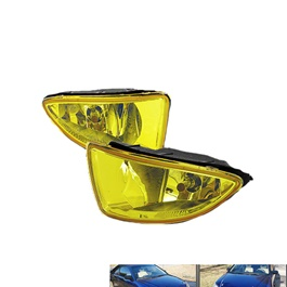 Honda Civic DLAA Fog Lamps / Fog Lights CF4 JDM Yellow Lamps - Model 2005-2006-SehgalMotors.Pk