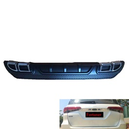Toyota Fortuner Rear Bumper Diffuser - Model 2016-2019	-SehgalMotors.Pk