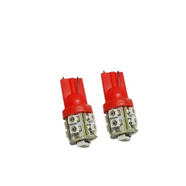Maximus SMD 10 Parking Light Red - Pair | Led Light Bulb For Parking | SMD Car Interior Lamps Parking Lights Car Accessories-SehgalMotors.Pk