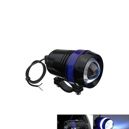 Blue Black Angel Eyes Fog lamp-SehgalMotors.Pk