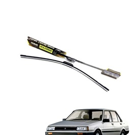 Toyota Corolla 5th Generation Maximus Premium Silicone Wiper Blades - Model 1983-1987-SehgalMotors.Pk