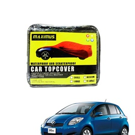 Toyota Vitz Maximus Non Woven Scratchproof Waterproof Top Cover - Model 2005-2011-SehgalMotors.Pk