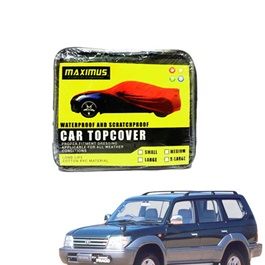 Toyota Prado Maximus Non Woven Scratchproof Waterproof Top Cover - Model 1996-2002