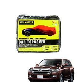 Toyota Land Cruiser Maximus Non Woven Car Top Cover - Model 2015 - 2017-SehgalMotors.Pk