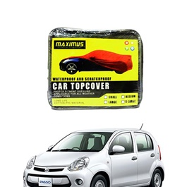 Toyota Passo 2nd Genration Maximus Non Woven Scratchproof Waterproof Top Cover - Model 2010-2016	-SehgalMotors.Pk