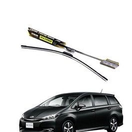 Toyota Wish Maximus Premium Silicone Wiper Blades - Model 2009-2017-SehgalMotors.Pk