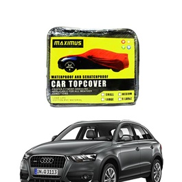 Audi Q3 Maximus Maximus Non Woven Scratchproof Waterproof Top Cover - Model 2012 - 2017	-SehgalMotors.Pk