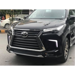 Toyota Fortuner NKS Lexus Style Body Kit / Bodykit Version 2 Black - Model 2016-2019-SehgalMotors.Pk