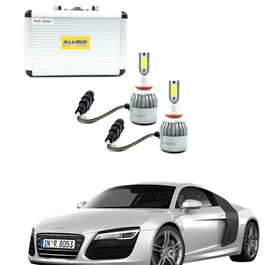 Audi R8 Maximus LED HID Extreme Vision - Model 2007 - 2017-SehgalMotors.Pk