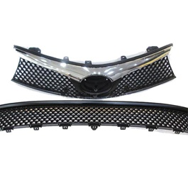 Toyota Corolla Full Chrome Upper and Lower Grille - Model 2014-2017-SehgalMotors.Pk