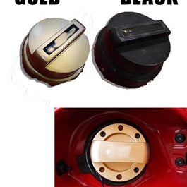 Universal Car Fuel Petrol Diesel Tank Cover - Mix Color-SehgalMotors.Pk