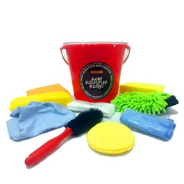 Maximus Nano Detailing Microfiber Bucket Kit - 10 Pieces