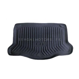 Honda Fit 5D Trunk Mat - Model 2013-2019 | Trunk Boot Liner | Cargo Mat Floor Tray | Trunk Protection Mat | Trunk Tray Cover Pad-SehgalMotors.Pk