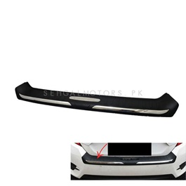 Honda Civic Chrome Trunk Bumper Protector Black - Model 2016-2019-SehgalMotors.Pk
