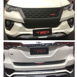Toyota Fortuner TRD Style Body Kit / Bodykit - Model 2016-2019	-SehgalMotors.Pk
