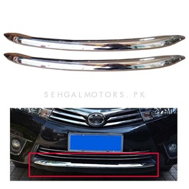 Toyota Corolla Front Back Chrome Set - Model 2014-2017-SehgalMotors.Pk