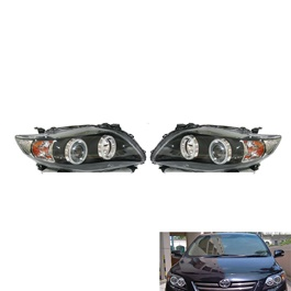 Toyota Corolla V4 Headlight - Model 2008-2012-SehgalMotors.Pk