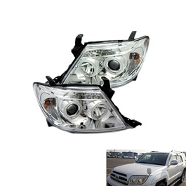 Toyota Hilux Surf Headlight - Model 2002-2009-SehgalMotors.Pk