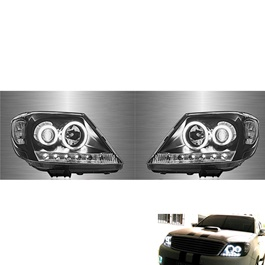 Toyota Hilux Vigo Projection Headlight - Model 2005-2016-SehgalMotors.Pk