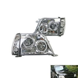 Toyota Land Cruiser FJ90 Projection Headlight - Model 1998-2007-SehgalMotors.Pk