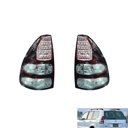 Toyota Land Cruiser FJ120 Smoke Style BackLight - Model 2007-2015-SehgalMotors.Pk