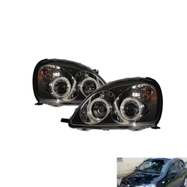 Toyota Vitz Projection Headlight / Head Lamp - Model 1998-2004-SehgalMotors.Pk