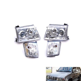 Toyota Hilux Surf V3 Headlight - Model 2002-2009-SehgalMotors.Pk