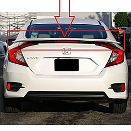 Honda Civic SI Spoiler American Style With Reflector - Model 2016-2019-SehgalMotors.Pk